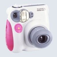Fujifilm INSTAX MINI Film Camera (Pink Trim)