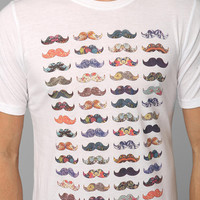Mustache Mania Tee