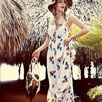 Candela  Joie Rose Print Maxi at Free People Clothing Boutique