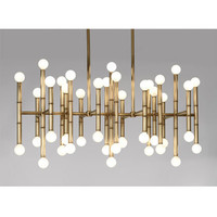 Jonathan Adler Meurice Rectangle Chandelier in Meurice