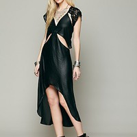 Free People Castaway Cap Sleeve Dress