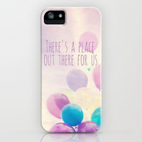 there&#x27;s a place out there for us iPhone Case by Sylvia Cook Photography