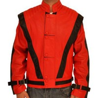 Amazon.com: Michael Jackson Thriller Leather Jacket: Clothing