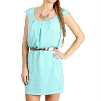 Yucca Mint Racerback Dress