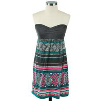 Billabong Slowly Cruzin` Dress: Clothing