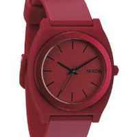 Nixon Time Teller P - Men's ( Dark Red Ano ): Watches: Amazon.com