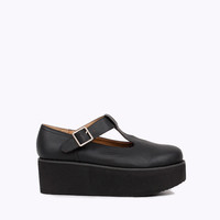 Buckle Up Flatform Shoes