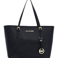 MICHAEL Michael Kors  Small Jet Set Saffiano Travel Tote - Michael Kors