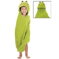 Avon Froggy Bath Beach Towel Hooded Children Frog