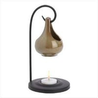 Folk Art Porcelain Tear Drop Oil Warmer Candle Holder: Amazon.com: Home & Kitchen