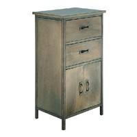 Old World Charm - Zinc Shop Chest