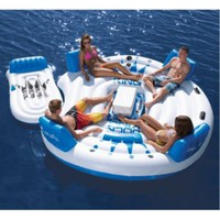 Connelly Dock King Floating Island With Lounge - Overton's