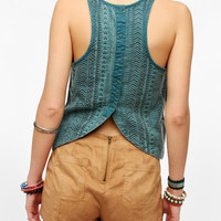Ecote Dobby Woven Tank Top
