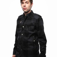 Ben Sherman Wool Check Jacket