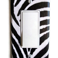 Zebra Rocker / GFI Switchplate