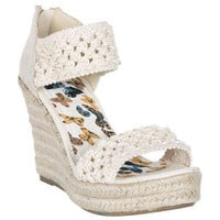 Alyssa Crochet Wedge