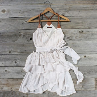 Scattered Ruffle Dress