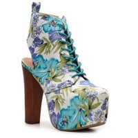 Enigma Floral Oxford Bootie Ankle Boots & Booties Boots Women's Shoes - DSW