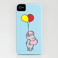 Elephant iPhone Case by Tom Deal | Society6