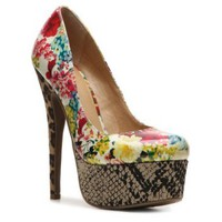 Zigi Soho Printy Floral Pump Peep Toes Pumps & Heels Women's Shoes - DSW