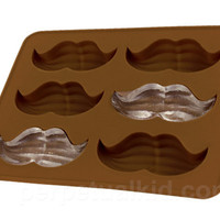 CLASSY MUSTACHE ICE CUBE TRAY