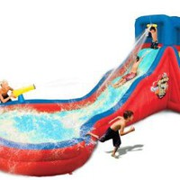 Double Cannon Blast Slide: Toys & Games