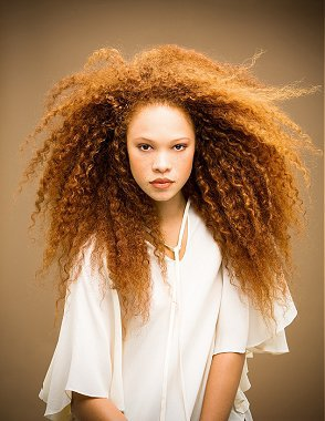 Russell Eaton - long brown frizzy hair styles