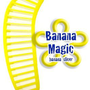Banana Slicer Cutter * Banana Magic * Kitchen Tool - Handy Gadget instantly slice chop banana chips no knife necessary !: Kitchen & Dining