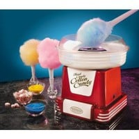 Retro Series Hard and Sugar-Free Cotton Candy Maker in Red: Kitchen &amp; Dining