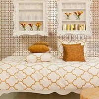 Brocade Home Exclusive - Moroccan Butternut Twin Duvet