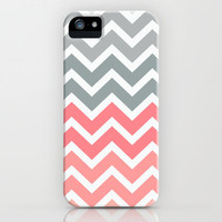 Chevron Pink Fade iPhone Case by RexLambo | Society6