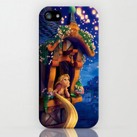 Tangled  Rapunzel iphone 4 case iPhone 4s case by TICKandPICK