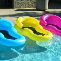 Chill Chair Floating Pool Lounge Pink: Toys &amp; Games