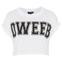 Dweeb Crop Top - Topshop USA