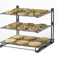 Nifty Non-Stick 3-Tier Cooling Rack: Kitchen &amp; Dining