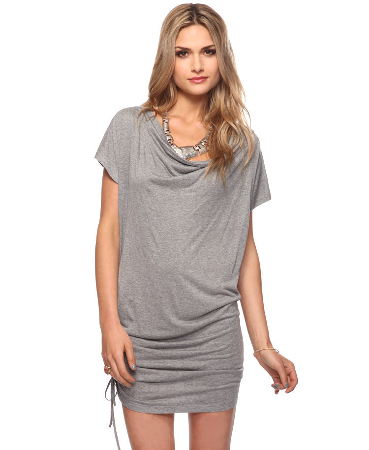 Ruched Cowl Neck Dress | FOREVER21 - 2015036100