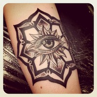 I got my mandala tattoo from my wonderfully...