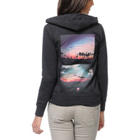 Glamour Kills Carl Rogers Dream Charcoal Zip Up Hoodie