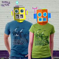 BMovie T shirt Invasion from beyond the by purplecactusdesign