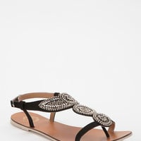 Urban Outfitters - Ecote Metal Bead T-Strap Sandal