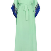 Issa Embellished silk-chiffon maxi dress  60% at THE OUTNET.COM