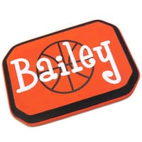 Basketball Decor - Basketball Room Decor - Custom Name Signs - Sports Themed Decor