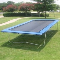 Olympic Rectangle Trampoline 10 x 17: Sports & Outdoors