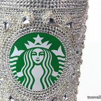 Swarovski Starbucks Cup / Mug 16oz (473ml) - &#x27;Elizabeth&#x27;