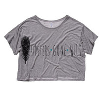 Hipsters Gone Wild Cropped T-Shirt (Preorder)
