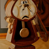 Beauty and the Beast Cogsworth Clock