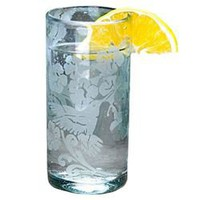Hummingbird Recycled Drinking Glass (421160062), Recycled Glasses &amp; Drinking Glasses| Colored Glassware ?? Individual Pieces &amp; Drinking Glass Sets