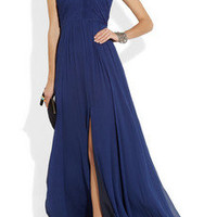 Matthew Williamson | Embellished crinkled chiffon gown | NET-A-PORTER.COM