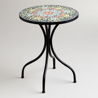 Medallion Cadiz Mosaic Accent Table