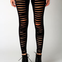 Lucy Split Front Jersey Leggings